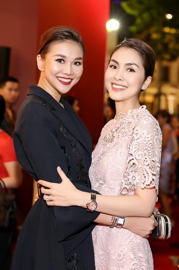 Thanh Hằng mặc đồ 3 tỷ đẹp sang chảnh hội ngộ sao quốc tế Phạm Văn Phương-9