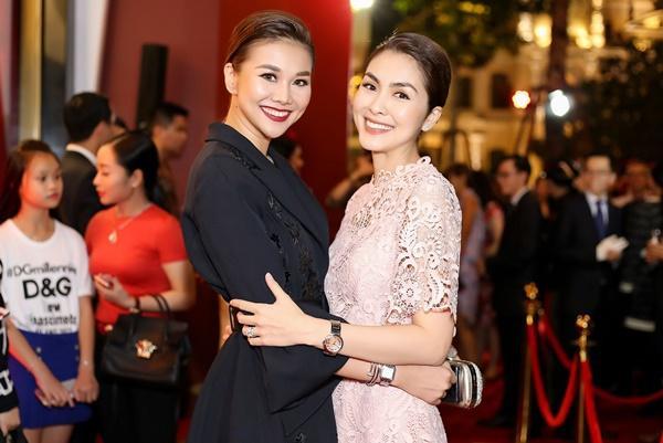 Thanh Hằng mặc đồ 3 tỷ đẹp sang chảnh hội ngộ sao quốc tế Phạm Văn Phương-10