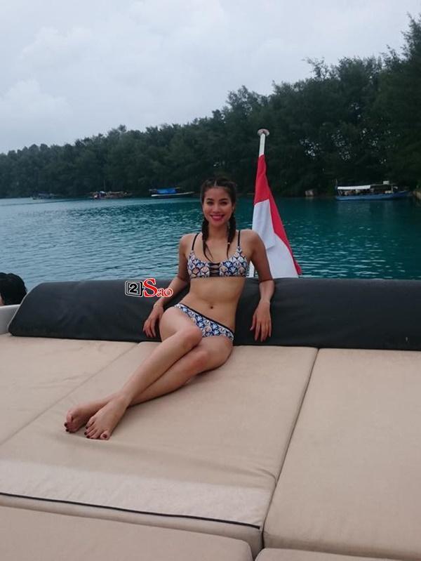 Sao Việt thả dáng trên giường với bikini: Hồ Ngọc Hà cùng Ngọc Trinh đỉnh cao, Minh Hằng và Diva Hồng Nhung mất điểm-10