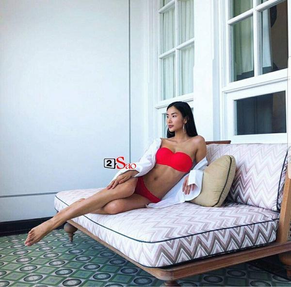 Sao Việt thả dáng trên giường với bikini: Hồ Ngọc Hà cùng Ngọc Trinh đỉnh cao, Minh Hằng và Diva Hồng Nhung mất điểm-11