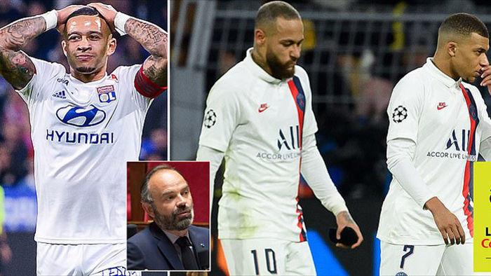 Thủ tướng Pháp ra lệnh cấm bóng đá, giải Ligue 1 bị hủy