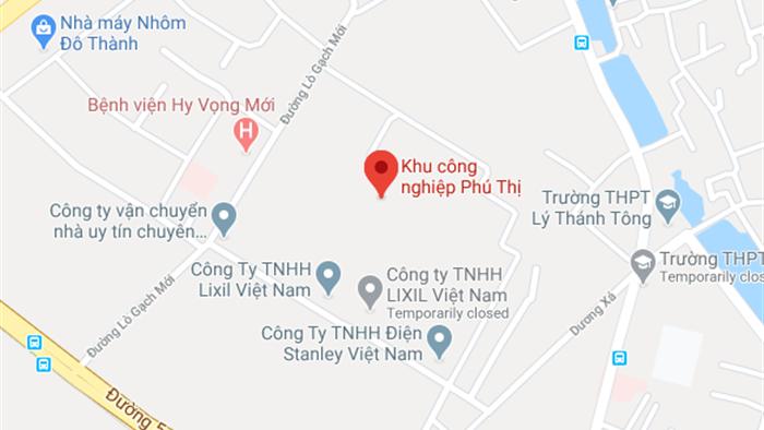 Chay lon tai Khu cong nghiep Phu Thi, 3 nguoi nghi bi mac ket hinh anh 1