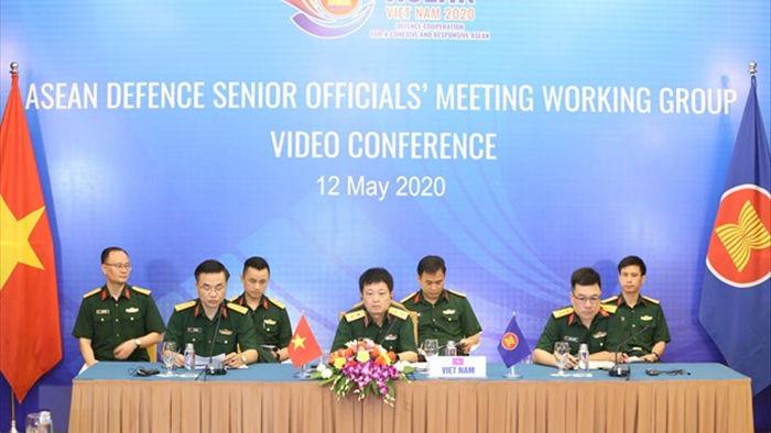 Viet Nam chu tri hoi nghi truc tuyen quan chuc quoc phong ASEAN hinh anh 1