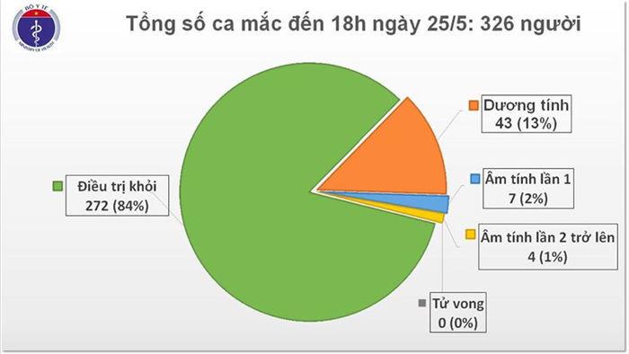 1 nu du hoc sinh mac covid-19, tong so ca o viet nam len 326 nguoi hinh 1