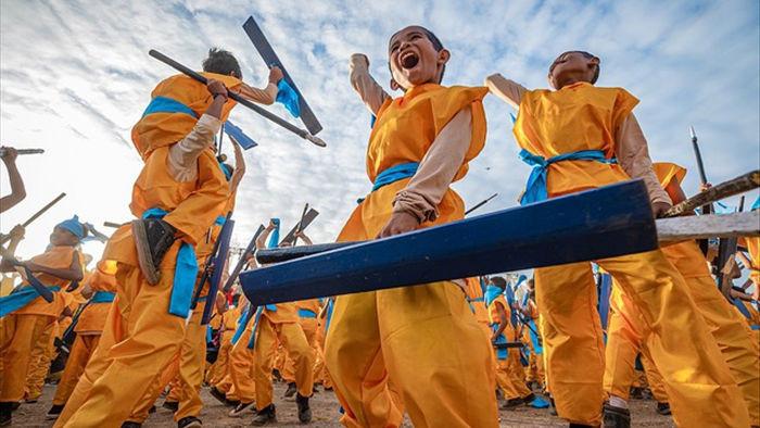 Những bức ảnh kể về niềm vui của trẻ em Việt Nam và trẻ em thế giới - 22