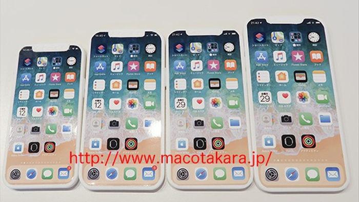 Lộ diện mô hình iPhone 12 gồm 4 phiên bản, kèm khay SIM 5G - 1