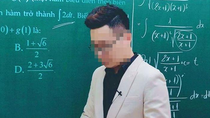 Thầy giáo dạy Toán bị tố giúp học sinh gian lận viết tâm thư xin lỗi