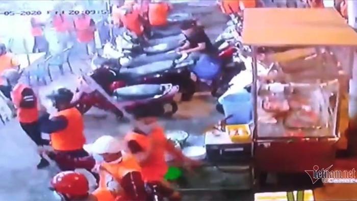 Bắt được kẻ cầm đầu 200 côn đồ áo cam chém người ở quán nhậu