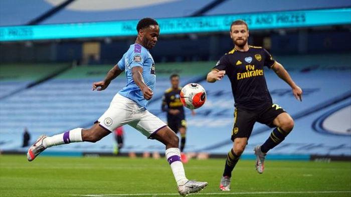 Ngoại Hạng Anh trở lại: Man City vùi dập Arsenal - 1