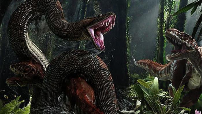 Tung tích của siêu trăn nuốt chửng cả khủng long bạo chúa - Ảnh 1.