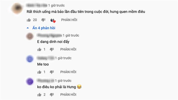 """Bà Tân tung video làm cốc rau má đậu xanh siêu to khổng lồ, nhưng thứ mà dân mạng chú ý nhất lại là một câu """"lỡ lời"""" của Hưng Vlog - Ảnh 13."""