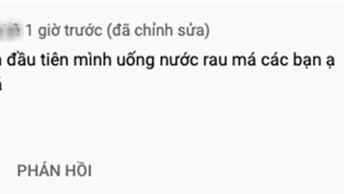"""Bà Tân tung video làm cốc rau má đậu xanh siêu to khổng lồ, nhưng thứ mà dân mạng chú ý nhất lại là một câu """"lỡ lời"""" của Hưng Vlog - Ảnh 15."""