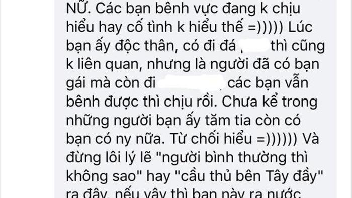 Fan nữ sụp đổ, vỡ tan niềm tin vào thần tượng Quang Hải - 3
