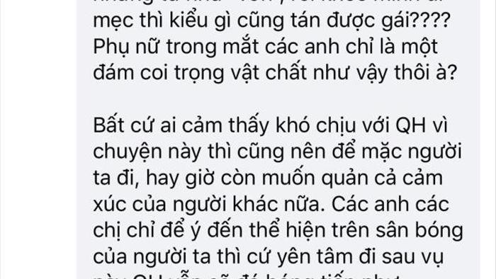 Fan nữ sụp đổ, vỡ tan niềm tin vào thần tượng Quang Hải - 6