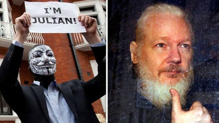 Ông chủ WikiLeaks bị cáo buộc hợp tác với nhóm hacker nổi tiếng Anonymous - 1