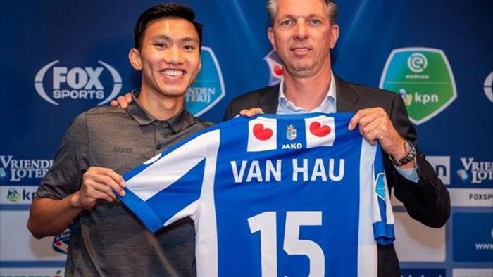 'Hà Nội FC và Heerenveen có thể đã bí mật bàn tương lai Văn Hậu' - 1