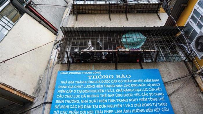 Vì sao dân vẫn bám trụ trong khu tập thể cũ nát, chờ sập ở Hà Nội? - 2