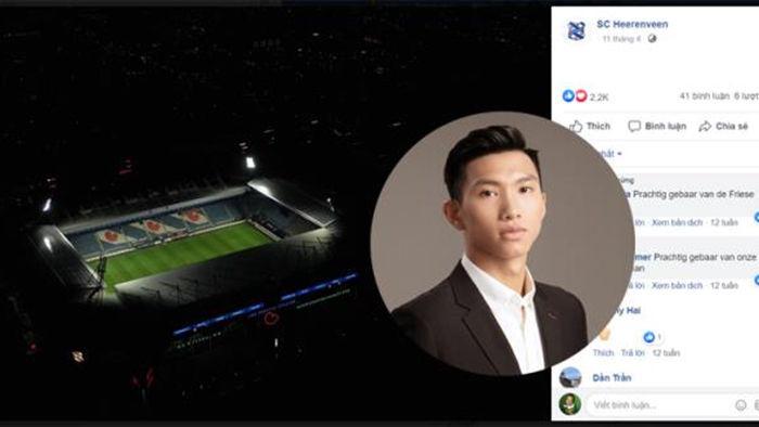 Đoàn Văn Hậu về Hà Nội, fanpage Heerenveen mất 27 nghìn lượt theo dõi - 1