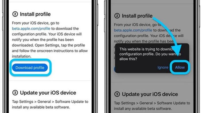 Hướng dẫn nâng cấp iPhone, iPad lên nền tảng iOS 14 và iPadOS 14 beta - 3