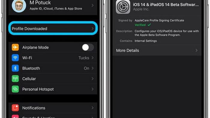 Hướng dẫn nâng cấp iPhone, iPad lên nền tảng iOS 14 và iPadOS 14 beta - 4
