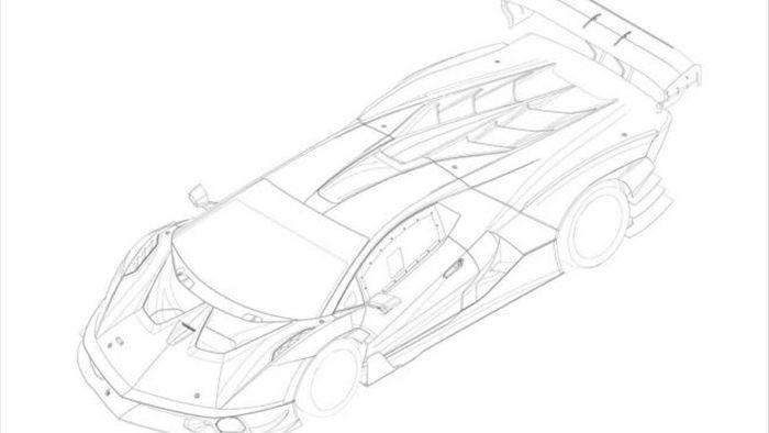 Lộ thiết kế của Lamborghini SCV12 qua hình ảnh bằng sáng chế bị rò rỉ - 2