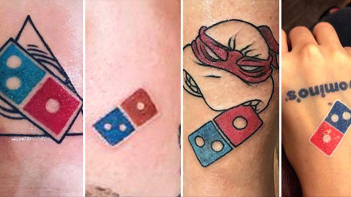 """Tặng """"pizza trọn đời"""" cho khách dám xăm logo hãng lên người, Dominos Pizza """"vỡ trận"""" với 350 người đăng kí chỉ trong... 5 ngày - Ảnh 2."""