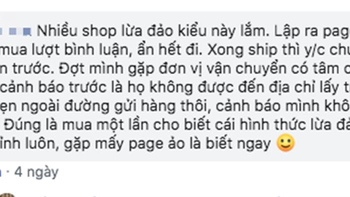 Cẩn trọng với hình thức lừa đảo khi mua hàng online: Lập shop trên Facebook, đăng ảnh đẹp, khách chuyển khoản mua hàng xong là shop 'mất hút' - Ảnh 7.