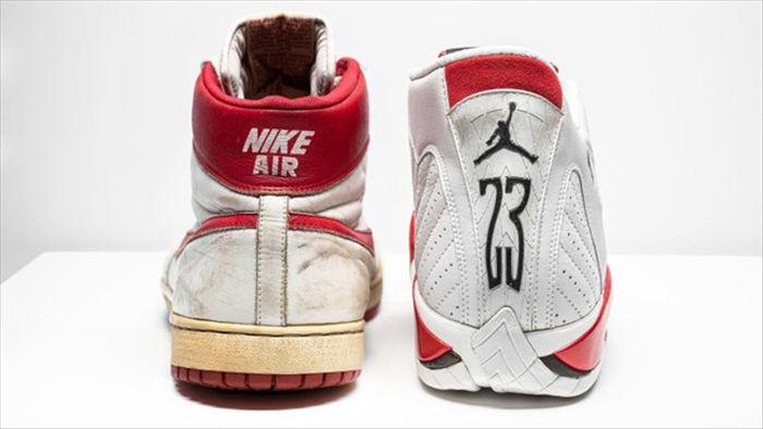 Đôi giày thể thao của Michael Jordan sẽ được bán đấu giá hơn 12 tỷ đồng - 1