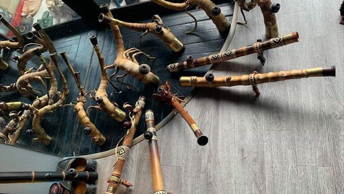 Chiêm ngưỡng bộ sưu tập điếu cày độc đáo của dân chơi Thái Nguyên - 3
