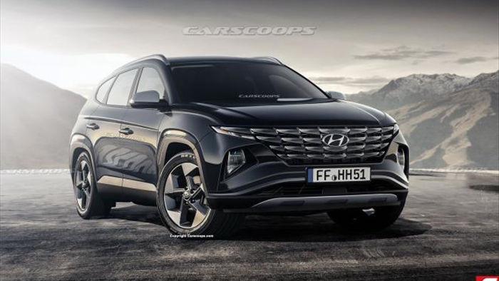 Hyundai Tucson 2021 lộ nội thất 'siêu độc' chờ ngày ra mắt - 2