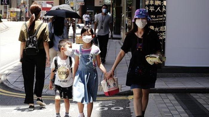 Hong Kong lai tiep tuc ghi nhan so ca COVID-19 tang ky luc hinh anh 1