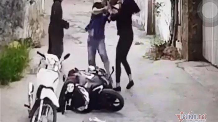 Camera ghi cảnh nghi phạm sát hại người phụ nữ ở Nghệ An