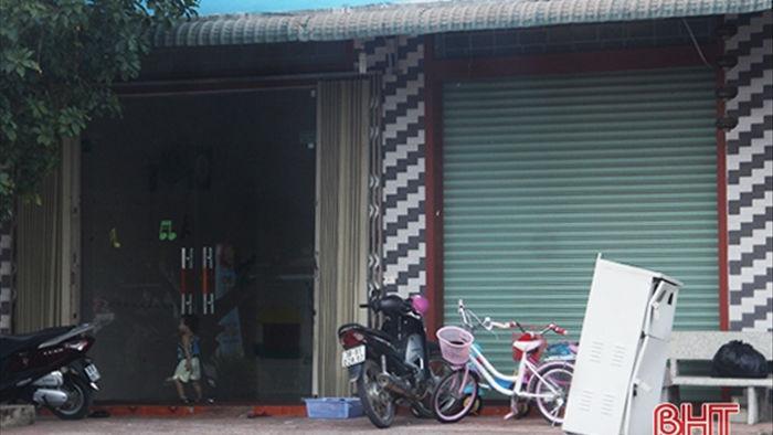 Đình chỉ nhóm lớp mầm non hoạt động không phép ở Hương Khê