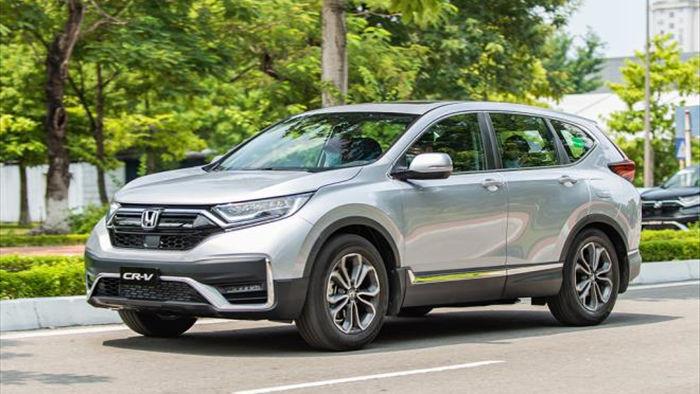Đại lý ưu đãi Honda CR-V gần 80 triệu đồng phụ kiện - 1