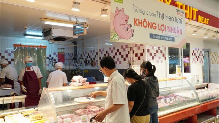 """Thực hư việc siêu thị bán thịt lợn """"không lợi nhuận"""" vì dịch Covid-19  - 1"""