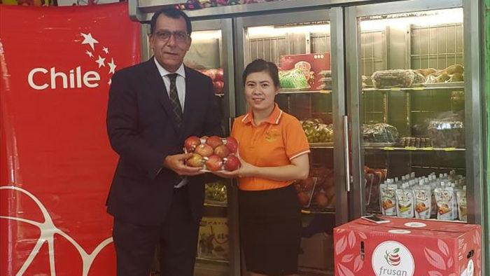 Táo Chile trở lại thị trường Việt Nam sau 5 năm vắng bóng - 1