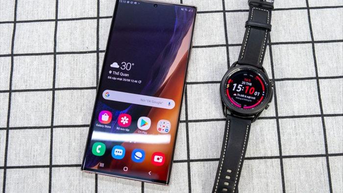 Mở hộp Galaxy Watch 3, so sánh cùng đối thủ Apple Watch - 1