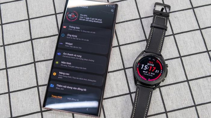 Mở hộp Galaxy Watch 3, so sánh cùng đối thủ Apple Watch - 11