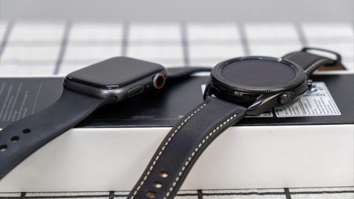 Mở hộp Galaxy Watch 3, so sánh cùng đối thủ Apple Watch - 8