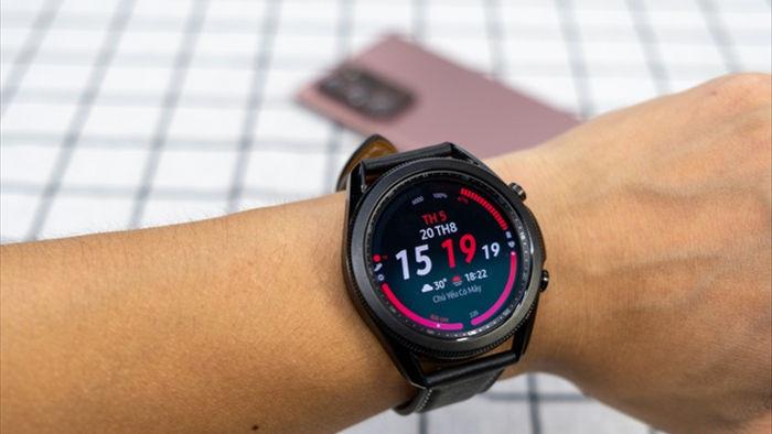 Mở hộp Galaxy Watch 3, so sánh cùng đối thủ Apple Watch - 13