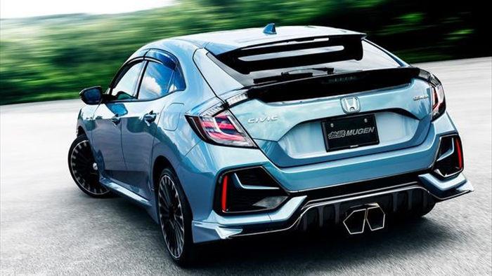 Honda Civic 2020 hầm hố hơn với gói phụ kiện Mugen  - 2