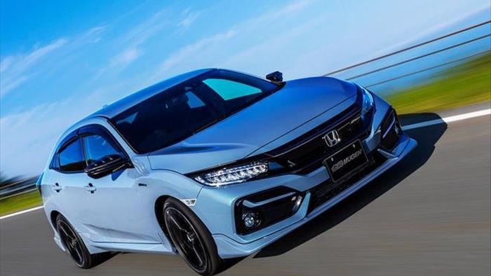 Honda Civic 2020 hầm hố hơn với gói phụ kiện Mugen  - 1