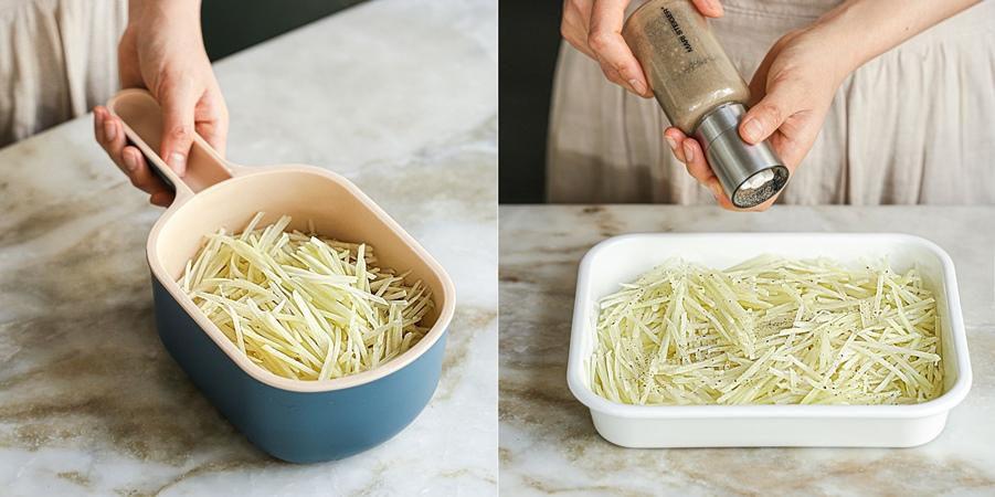 Bánh khoai tây chiên ngon đến ngỡ ngàng, ăn bữa sáng hay bữa xế đều hợp lý-1