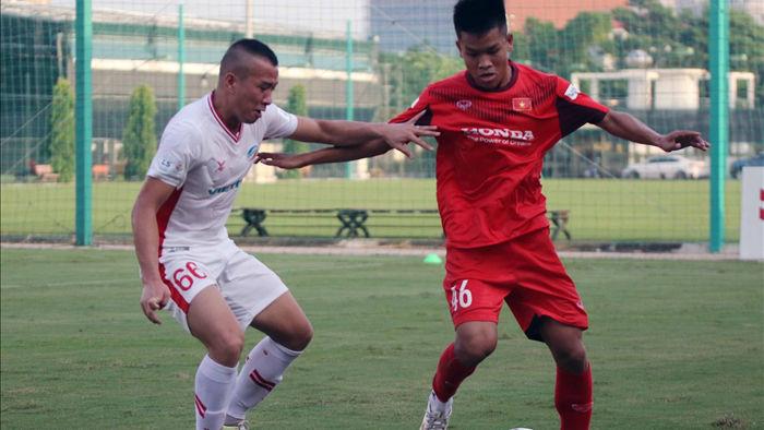 U22 Việt Nam hoà CLB Viettel trong trận cầu hấp dẫn - 5