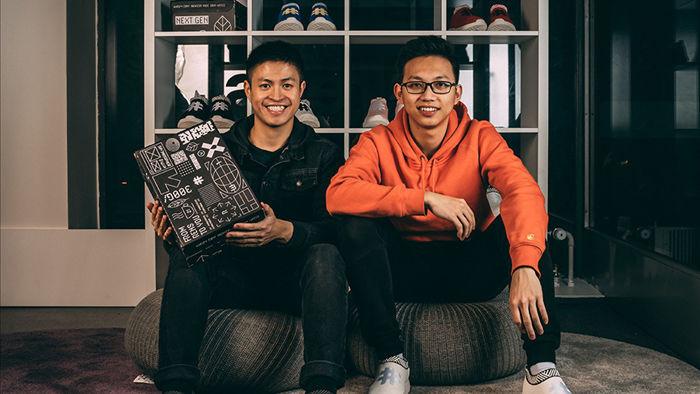Hai chàng trai làm giày từ bã cà phê, lọt top Forbes 30 Under 30