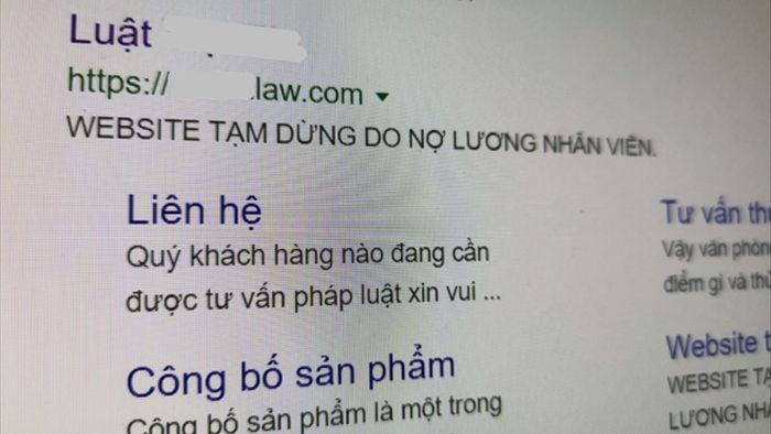 cong ty bat dong san bi hack website anh 2