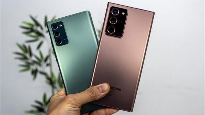 Vừa bán ra, Galaxy Note20 đã giảm giá mạnh - 1