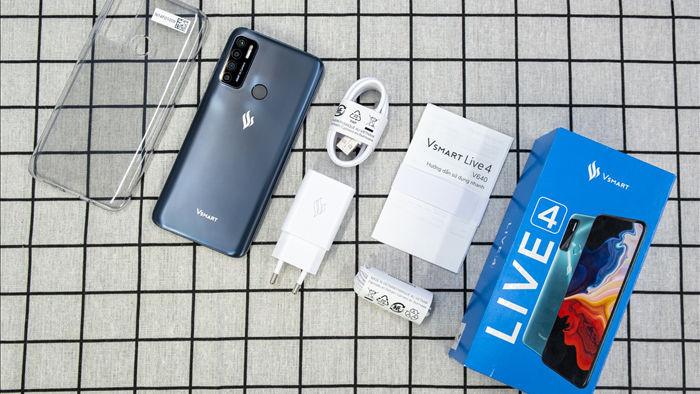 Trên tay Vsmart Live 4: smartphone giá tốt, thiết kế đẹp do VinSmart tự chủ - 1