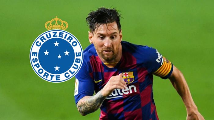 Hài hước vụ CLB Brazil công bố chiêu mộ thành công Messi - 1