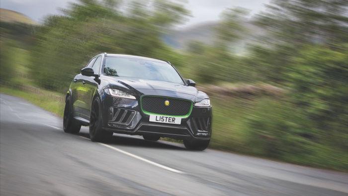 jaguar f-pace svr lister stealth 2021 - suv nhanh va manh nhat nuoc anh hinh 1